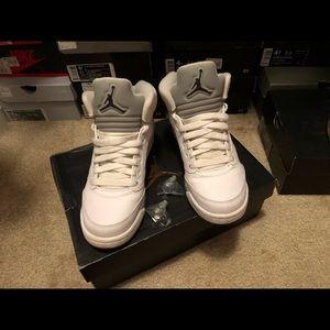 Air Jordan 5 Metallic Silver